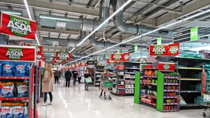 Asda said like-for-like sales, excluding fuel, rose 7.3% year-on-year in its first quarter to March 31