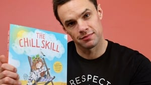 Bressie with his acclaimed children's book The Chill Skill