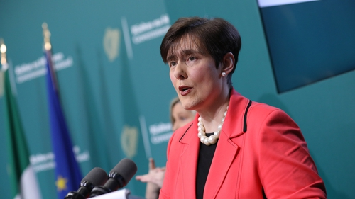 Norma Foley had talks with trade union representatives this morning