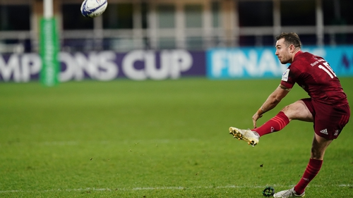 JJ Hanrahan was 100% accurate off the tee to score 24 points in his last game, against Clermont Auvergne