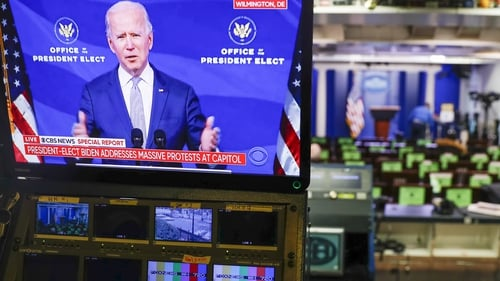 Joe Biden spoke during the election campaign of bringing manufacturing back to the US