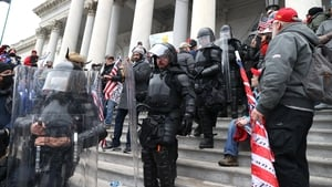 n angry mob of protesters stormed the Capitol Building in Washington last week