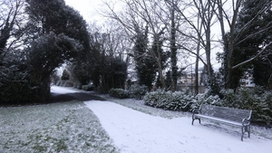 Met Éireann has said snow showers are expected in the east early next week (File image: RollingNews.ie)