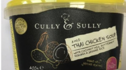The product is being recalled due to the 'possible presence of red plastic packaging'