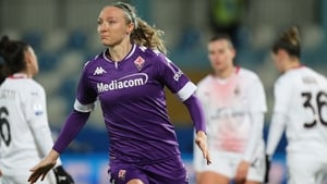 Louise Quinn has scored three goals for Fiorentina this season, including the match -winner in the Italian Super Cup semi-final victory over AC Milan