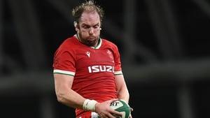 Alun Wyn Jones will win his 144th Wales cap on Sunday