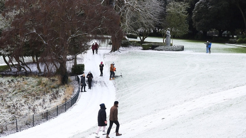 Hazardous icy conditions are expected in places with a widespread severe frost and pockets of freezing fog (Pic: RollingNews.ie)