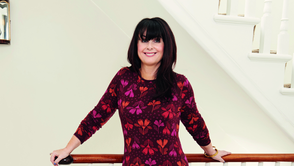 Marian Keyes has summed up our 2021 energy by wearing one of the most coveted dresses of the decade to put the bins out.