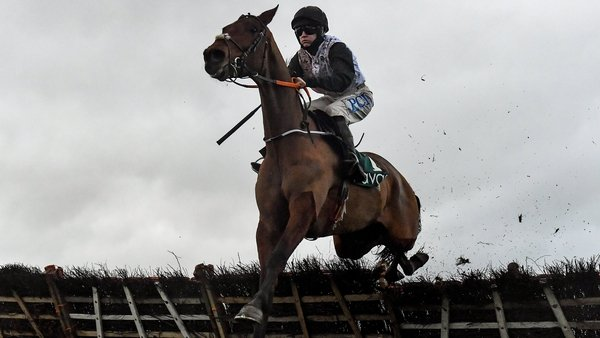 Bob Olinger is a 4-1 shot with most firms for the Ballymore Novices' Hurdle after his win at Naas