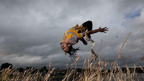 Nigerian-Irish dancer