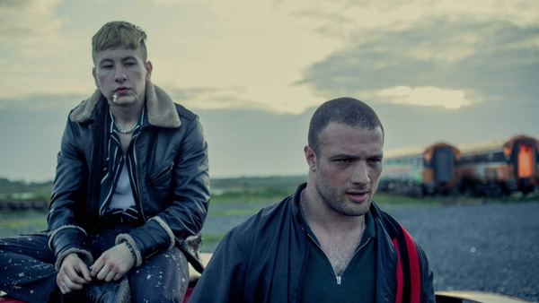 Barry Keoghan and Cosmo Jarvis star in Calm With Horses