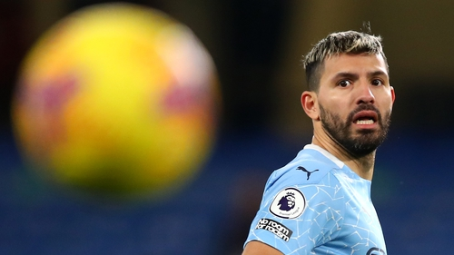 Aguero has been impacted by injuries in recent months