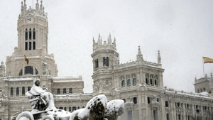 Madrid experienced its heaviest snowfalls since 1971 in what the AEMET weather agency described as 'exceptional and most likely historic' conditions caused by Storm Filomena