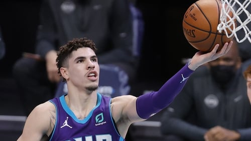 LaMelo Ball is in red-hot form