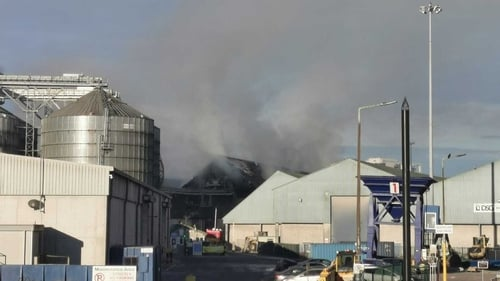 Two units of the fire service, from Carrigaline and Crosshaven, remain on site today
