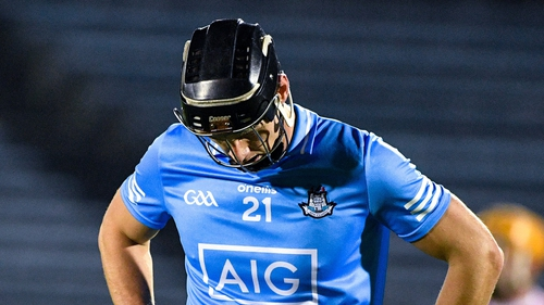 Mark Schutte reacts to Dublin's qualifier exit to Cork in November