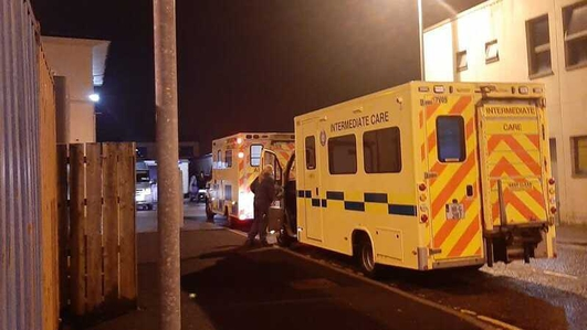 Letterkenny hospital apologises after patients treated in ambulances