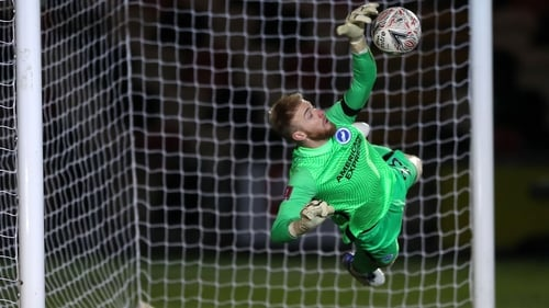 Brighton's Jason Steele proved the spot-kick hero