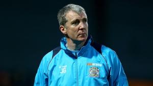 Jim Gannon's Stockport side take on West Ham