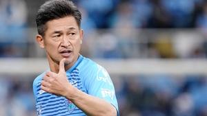 Kazuyoshi Miura of Yokohama