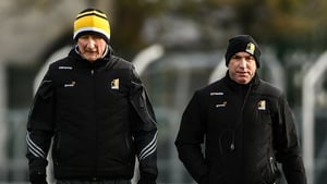 Kilkenny manager Brian Cody, left, and selector DJ Carey