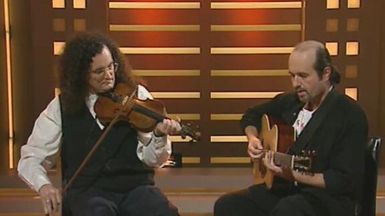 Martin Hayes and Dennis Cahill on The Late Late Show (1996)