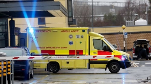 Frontline staff at hospitals around the country are dealing with a continued rise in Covid admissions (File: RollingNews.ie)