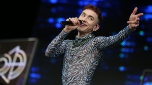 Olly Alexander performs at the Electric Picnic in 2019