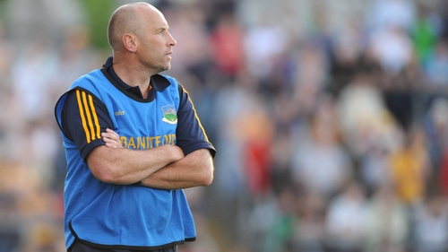 Declan Carr on the sideline with Tipperary U21s