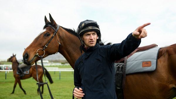 Patrick Mullins was surprised by Grangee's latest outing