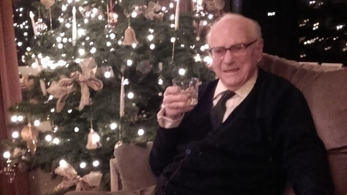 107-year-old Michael O'Connor on Today with Claire Byrne