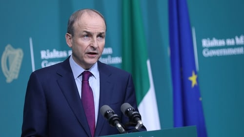 Micheál Martin said the report makes harrowing reading