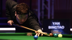Yan Bingtao will face Stephen Maguire in the quarter-finals