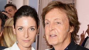 Mary McCartney with her dad Paul