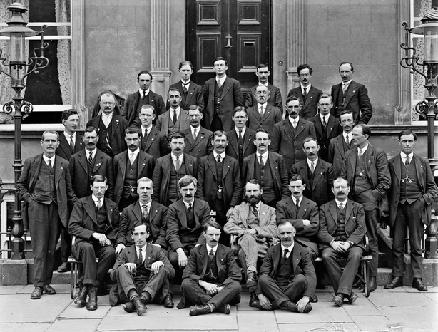 Irish Trade Union Congress at a their annual conference in Waterford, August 1918 Photo: National Library of Ireland