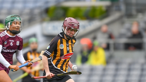 Anne Dalton of Kilkenny in action against Galway
