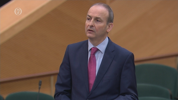 The Taoiseach was speaking at an Oireachtas Committee dealing with revised estimates for Public Services