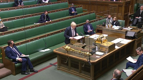 'We'll be going to 24/7 as soon as we can,' Boris Johnson told parliament