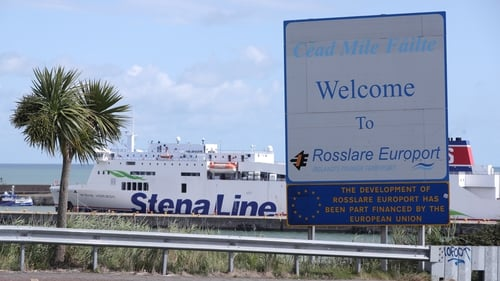 Stena Embla will replace Stena Horizon (pictured) which will undergo maintenance work