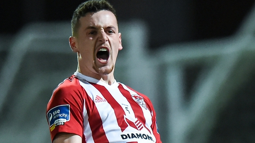 Derry City have lured back David Parkhouse