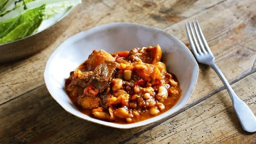 Spicy and filling, this warming chilli makes a super winter supper.