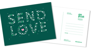 An Post has also announced the return of free postcards which will be delivered to every home from next week