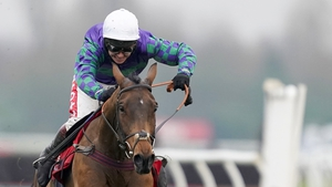 Thyme Hill was runner-up behind Paisley Park in the Long Walk Hurdle on his most recent outing