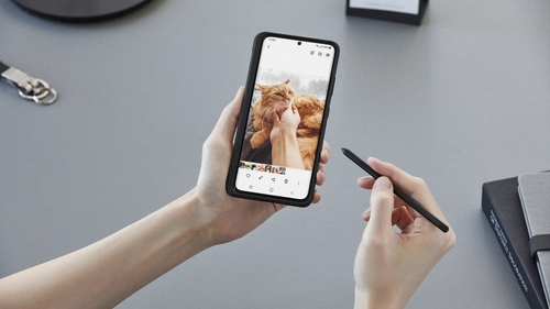 The S21 Ultra 5G is set up for the S-Pen, but it isn't included