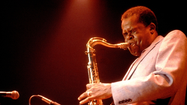 Stanley Turrentine performs in Chicago, July 14, 1979.