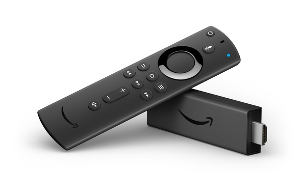 The Fire TV Stick 4K comes with an Alexa enabled remote control