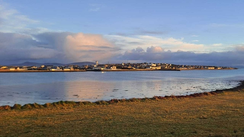The town of Belmullet has a population of around 1,000 people
