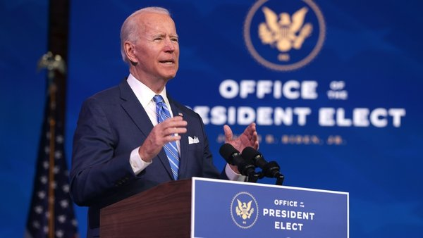 Joe Biden promised to ramp up vaccinations against Covid-19