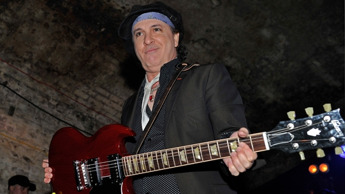 Sylvain Sylvain onstage in London in 2011