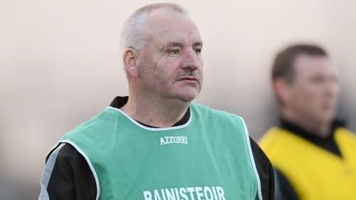 Sligo manager Anthony Brennan